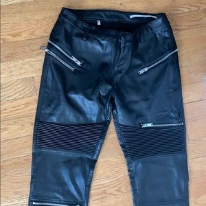 Leather Zara pants
